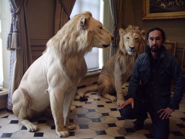 Kenji T with Lion